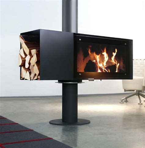 modern wood fireplace 8 wood burning fireplaces ideas that totally sizzle Modern Wood Fireplace