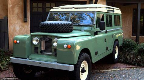 scandinavian classic cars land rover defender classic