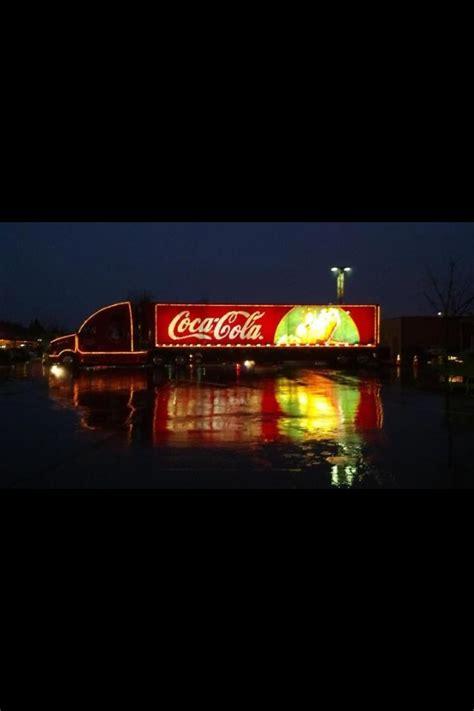 coca cola christmas lights holidays pinterest