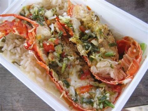cuisine guadeloupe guadeloupe langoustes guadeloupe lobster
