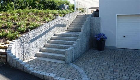 Steine Für Gartenmauer by Granit Steinmauer Garten Mauer