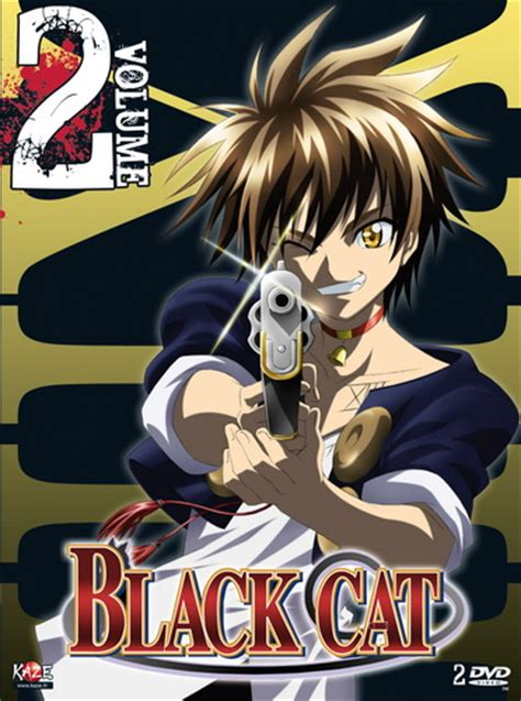 dvd black cat vol anime dvd manga news