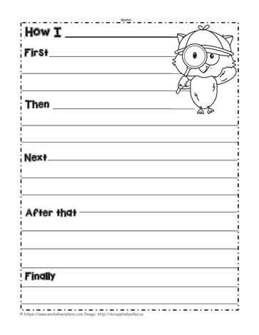 procedural writing template procedural text worksheets the best and most comprehensive worksheets