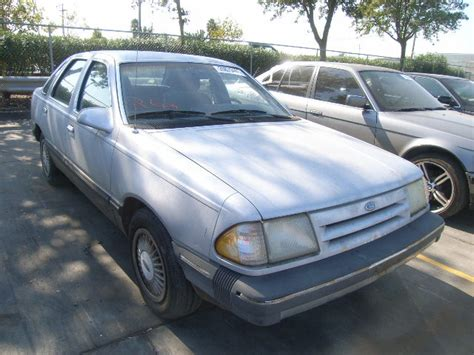 auto body repair training 1987 ford tempo instrument cluster 1fabp39s9hk234444 bidding ended on 1987 gray ford tempo awd autobidmaster