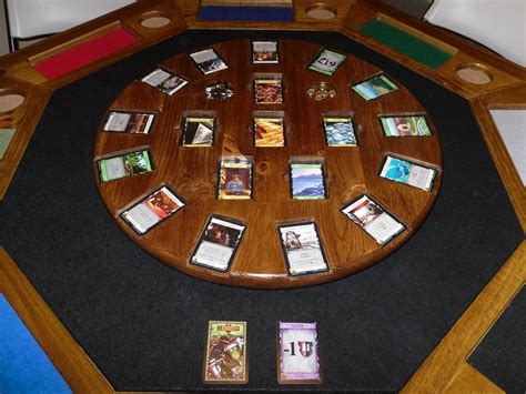 card and game tables wooden dominion card game table