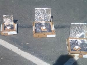 Pizza Box Solar Oven Kids