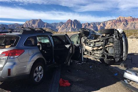 Cause Of Deadly Crash Near Red Rock Canyon Determined By