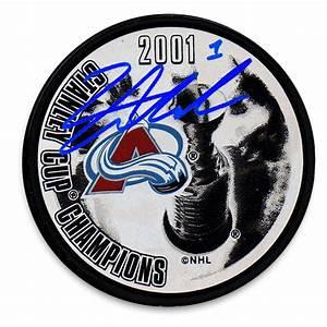 David Aebischer Colorado Avalanche 2001 Stanley Cup ...