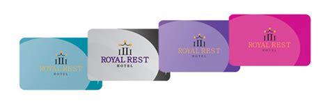 hotel chain custom rfid mag stripe room key cards