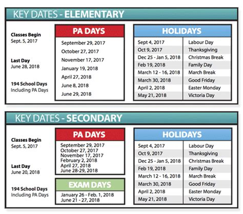 school year religious holiday calendars tvdsb