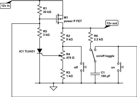 Voltage Cut Off Circuit For Battery Electrical