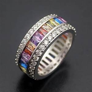 Hermosa Christmas Gifts Gemstone Ring Morganite Garnet