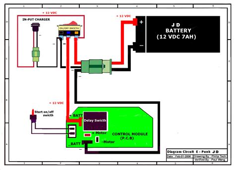 Wrg Electric Scooter Controller Wiring Diagram