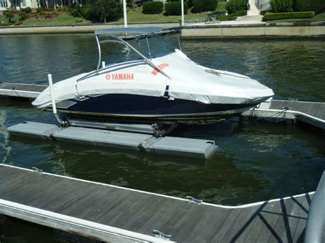 Floating Boat Lift by Sunstream Float Lift Floating Boat Lifts