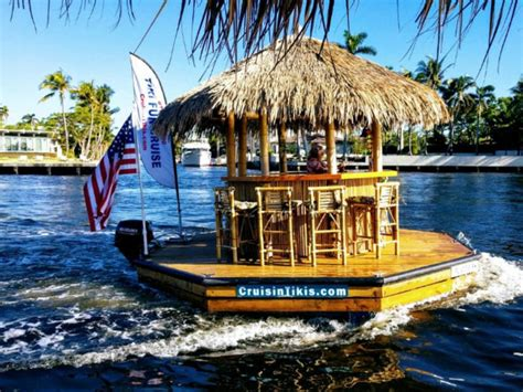 Key West Tiki Bar Boats by Motorized Tiki Bar To Cruise Pittsburgh Rivers This Summer
