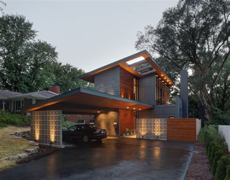 17 Gorgeous Midcentury Modern Exterior Designs Of Homes