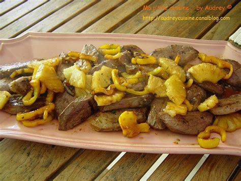 plat de resistance leger magret de canard 224 l ananas ma p tite cuisine