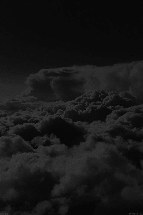 mb wallpaper   cloud level sky dark papersco