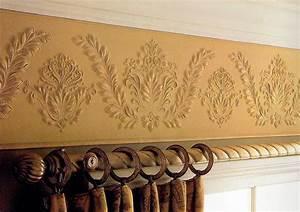 tapeten galerie 44 lincrusta ua stil tapeten With balkon teppich mit tapeten und bordüren