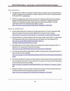 NG911 NOW National Gap Analysis and Strategy Document
