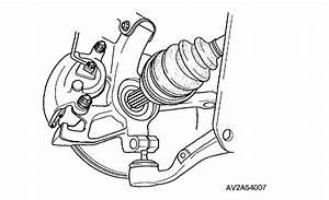 Howtorepairguide Com  How To Remove Cv Axle On Kia Sedona