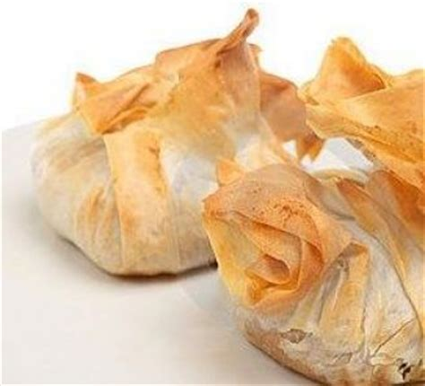 filo pastry cases canapes roast vegetable filo parcels food