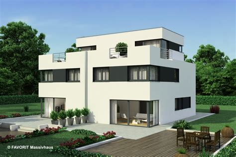 Moderne Häuser Top 100 by Favorit Massivhaus