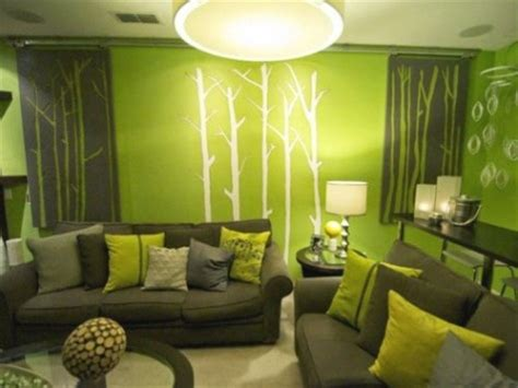 10 gambar desain interior rumah warna hijau sejuk desain