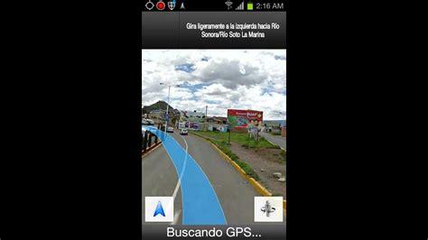 google maps navigation  en espanol  mexico