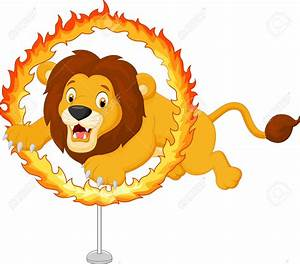 Circus Ring Of Fire Clipart - ClipartXtras