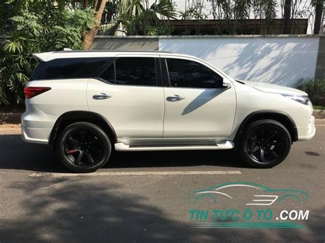 toyota fortuner  nhap tu thai lan bo body kit  thao
