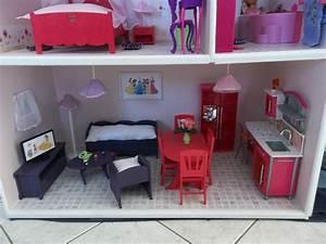 Meubles En Bois Pour Maison De Barbie