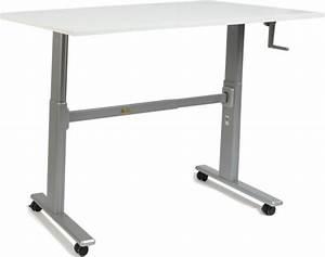 Bureau 60 Cm : zit sta bureau s100 werkblad wit 80 x 60 cm ~ Teatrodelosmanantiales.com Idées de Décoration