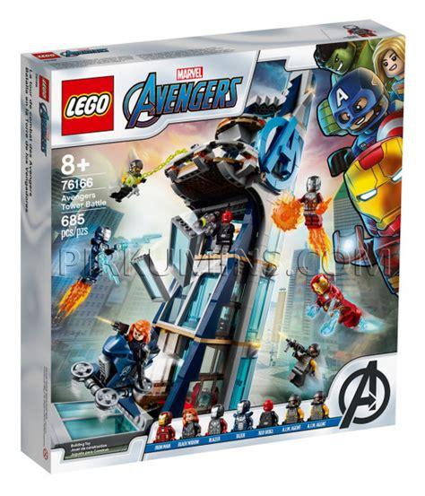 76166 LEGO® Super Heroes Avengers Atriebēji: cīņa tornī ...