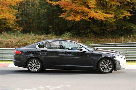 pictures jaguar xs spyshots 2016 jaguar xs entry sedan track testing
