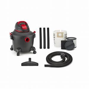 Shop-vac 5922611 6-gallon 3 5-peak-hp Shop Vacuum