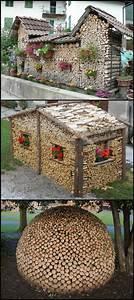 Sichtschutz Im Garten : the art of wood stacking garten sichtschutz garten ~ A.2002-acura-tl-radio.info Haus und Dekorationen