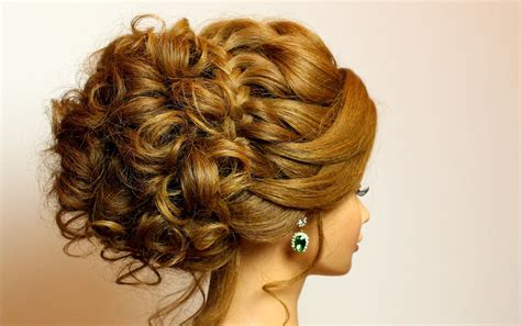 bridal hairstyle  long medium hair tutorial romantic