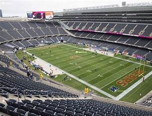 Soldier Field Seating Chart Concert In 2020 Soldier