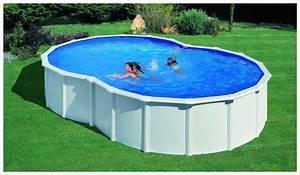 Piscine En Acier : piscine en kit gr acier montage rapide forme en huit ~ Melissatoandfro.com Idées de Décoration