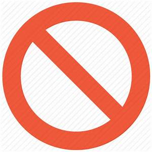 Close, closed, delete, entry, exit, no, private icon ...