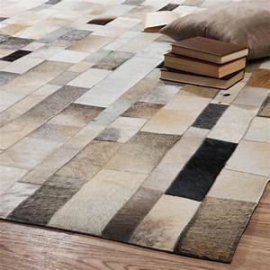 tapis cuir With tapis peau de vache avec canapé lit bultex pas cher