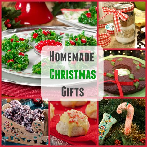 homemade christmas gifts 20 easy christmas recipes and