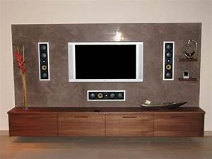 Ideen Tv Wand : wohnzimmer ideen tv wand konstruktions esszimmer und ~ Lizthompson.info Haus und Dekorationen