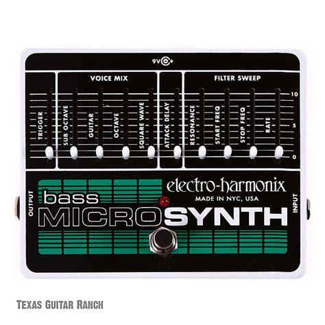 electro harmonix micro synth sound templates electro harmonix bass microsynth micro synth synthesizer