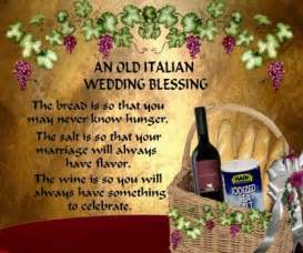 wedding wishes sayings an italian wedding blessing 63 pieces jigsaw puzzle