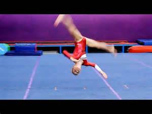 gymnastics floor routine