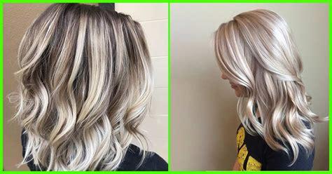 Blonde Foils In Light Brown Hair