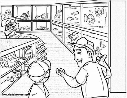 Coloring Pages Pet Troyer