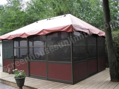 standing screen room kits square style screened